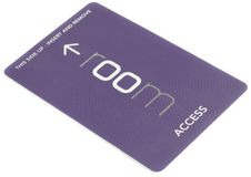 Access card Stock Image