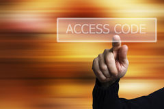 Access code Royalty Free Stock Photography