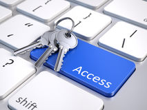 Access concept Stock Image