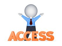 Access concept. Stock Photography