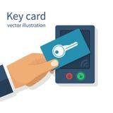 Access control. Key Stock Photo