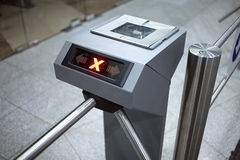 Access control system closeup Royalty Free Stock Image