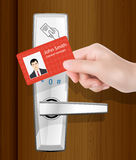 Access control vector illustration