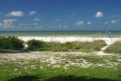 Access de plage Image stock
