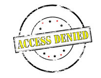 Access denied Stock Images