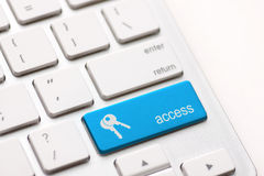 Access enter key Royalty Free Stock Photos