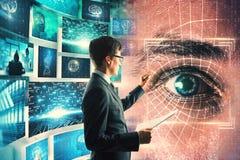 Access et concept de technologie image stock