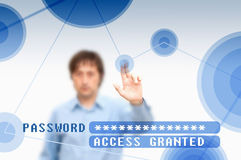 Access granted Stock Photos