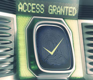 Access Granted Stock Images