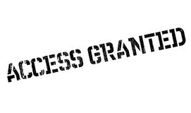 Access Granted rubber stamp Stock Image