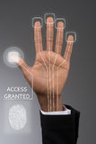 Access granted stock photography