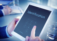 Access Identification Password Passcode Graphic Concept Royalty Free Stock Images