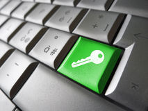 Access Key Security Symbol Stock Image