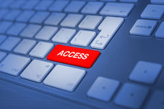 Access Keyboard keys Stock Photography
