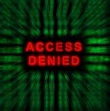 Access a nié Photos libres de droits