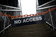 access nr Royaltyfri Bild