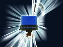 access panelljuset Royaltyfria Bilder