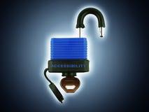 access panelljuset Royaltyfri Fotografi
