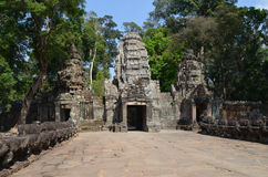 Access Preah Khan temple. Stock Image