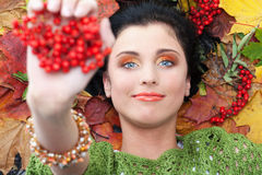 Access to autumn Royalty Free Stock Photo
