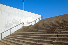 Access to a big sports venue Royalty Free Stock Photos