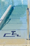 Access to the pool for handicapped Royalty Free Stock Photography