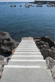 Access to the sea Stock Photography