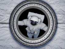 Access to space. Royalty Free Stock Image