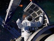 Access to space. Stock Photos