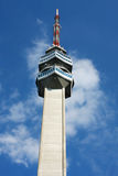 Access to the television tower on the Avala, Belgrade, Serbia Stock Photography