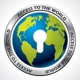 Access to the world Stock Photos
