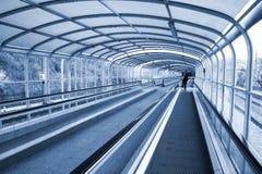 access tunnelen Arkivfoto