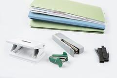 Accesseries dell'ufficio per uso di ogni giorno nella scuola e nella famiglia di lavoro dell'impiegato Immagine Stock