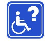 Accessibile andicappato illustrazione di stock