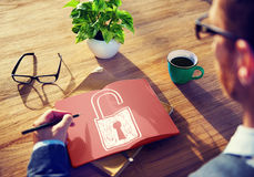 Accessibility Password Privacy Security Protection Concept Royalty Free Stock Photo