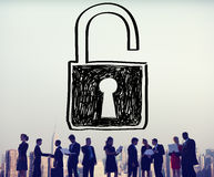 Accessibility Password Privacy Security Protection Concept Royalty Free Stock Photography