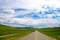 Accessibility,The Way Forward. Road,Accessibility,The Way Forward,travel in china Stock Photography