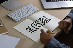 Accessible Welcome Greeting Welcoming Approachable Access Enter Stock Photo