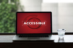 Accessible Welcome Greeting Welcoming Approachable Access Enter Stock Image