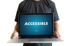 Accessible Welcome Greeting Welcoming Approachable Access Enter Royalty Free Stock Image