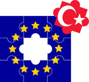 Accession of Turkey to the European Union Royalty Free Stock Photos
