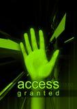Accesso assegnato Immagini Stock Libere da Diritti