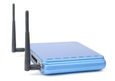 Accesso di Internet blu fotografia stock