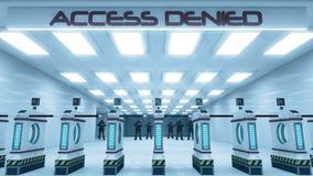 Accesso negato Fotografie Stock Libere da Diritti