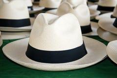 Accessoire - chapeaux de Panama Photographie stock