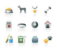 Accessoire de crabot et graphismes de symboles Photographie stock libre de droits