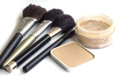 Accessoires cosmétiques Photographie stock libre de droits