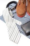 Accessoires d'affaires ou de mâle Image stock