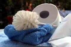 Accessoires de Bath Image libre de droits