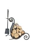 Accessoires de cheminée Images stock
